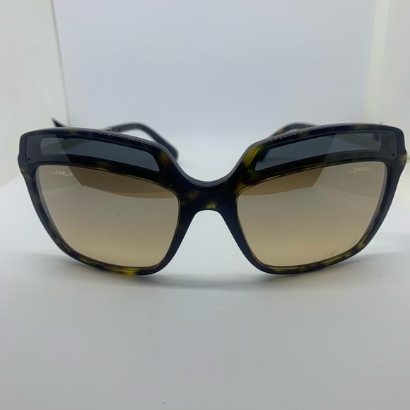 dc66842d2b Chanel 5378 Women s Brown Havana Sunglasses